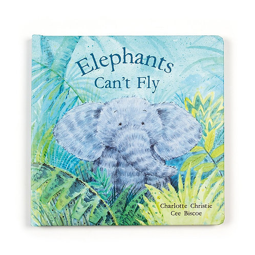 Jellycat Elephants Cant Fly Book