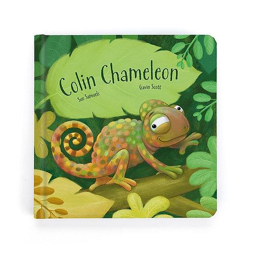 Jellycat Colin Chameleon Book