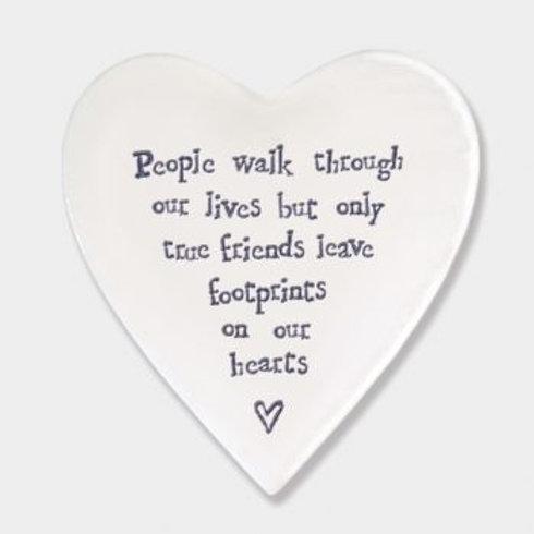 People walk through... Heart Coaster