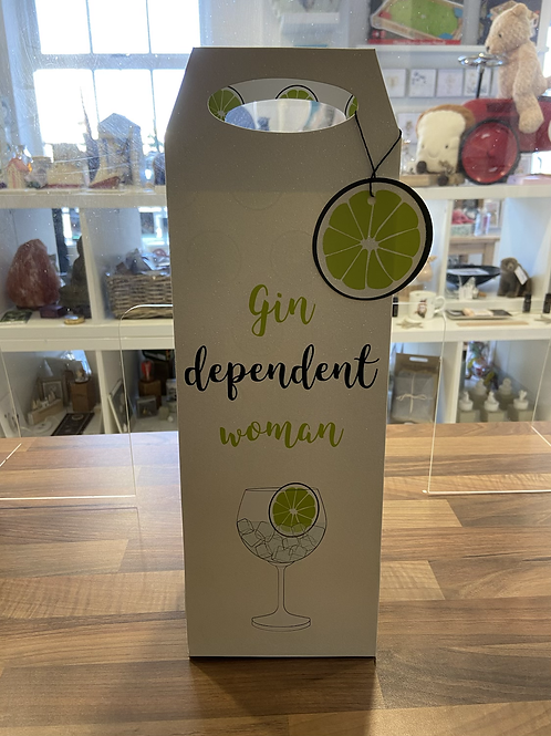 Gin Dependent Women Bottle Bag