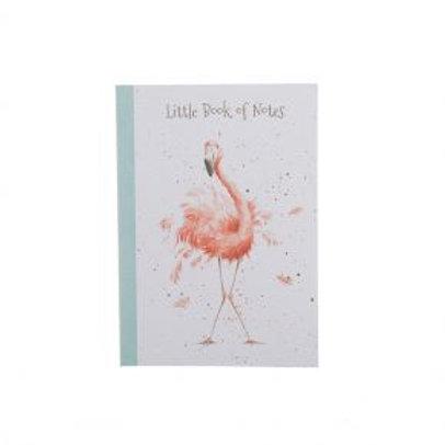 Wrendale A6 Flamingo Notebook