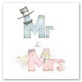 Mr and Mrs Berni Parker Card
