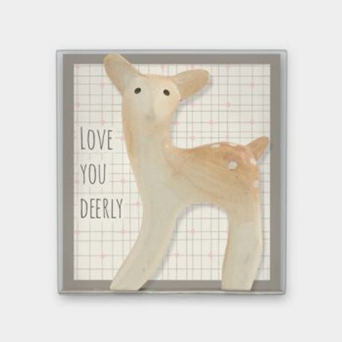 Love you deerly Boxed Deer