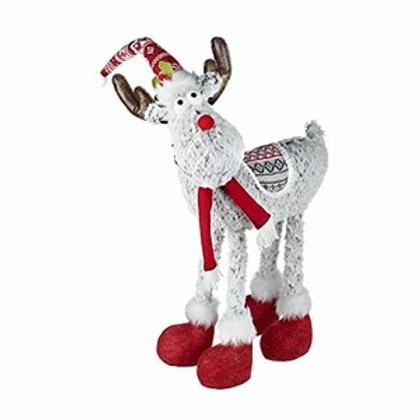 Free Standing Fabric Reindeer