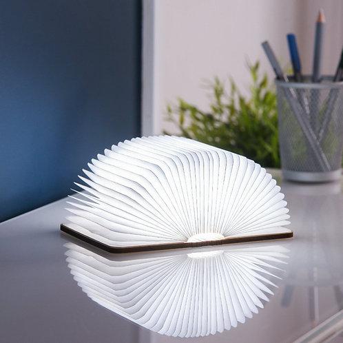 Gingko Mini Smart Booklight Walnut
