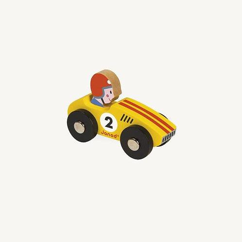 Story Racing Car - Yellow