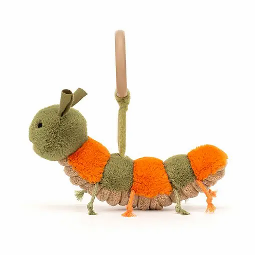 Jellycat Christopher Caterpillar Rattle