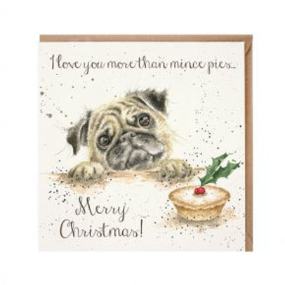 Wrendale Mince Pies Christmas Card