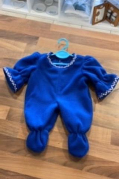 Blue Dolly Sleepsuit