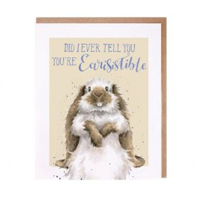 Did I ever tell you You're Earisistible Wrendale Card