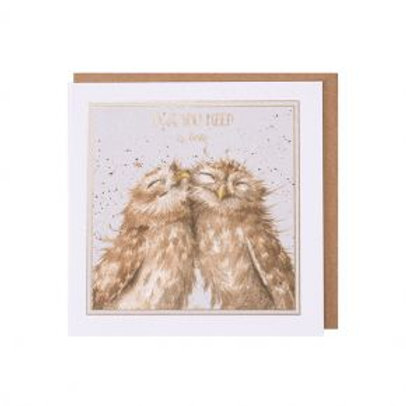 Owl you need is love Wrendale Card