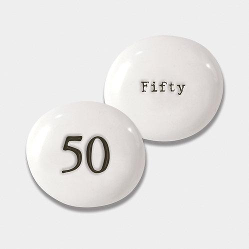 East of India 50 Porcelain Pebble