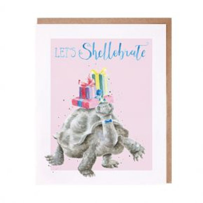 Let's Shellebrate Wrendale Card