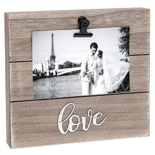 Love Block Clip Frame