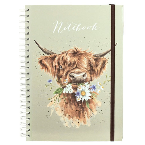 Wrendale A4 Daisy Coo Notebook