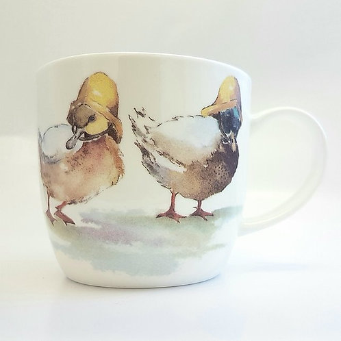 Trumpers World Mug - Great Weather for Ducks