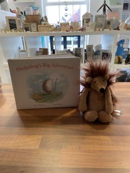 Jellycat Hedgehogs Big Adventure Book Set