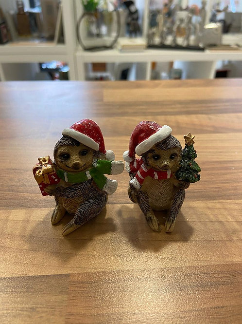 Christmas Sloth Figurine - Various Designs