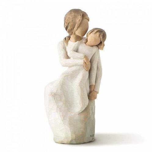 MotherDaughter Willow Tree Figurine