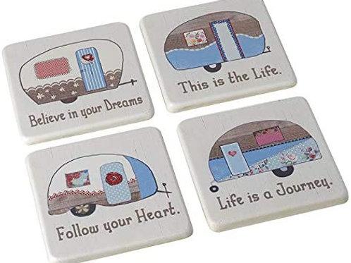 Caravan Coaster - Various Designs