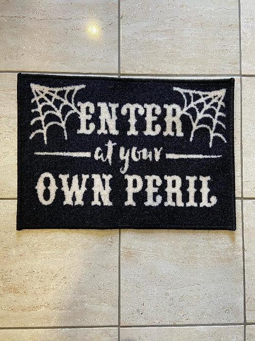 At your Peril Door Mat