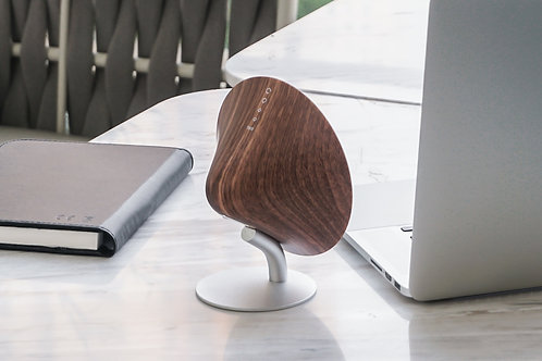 Mini Halo Speaker Walnut