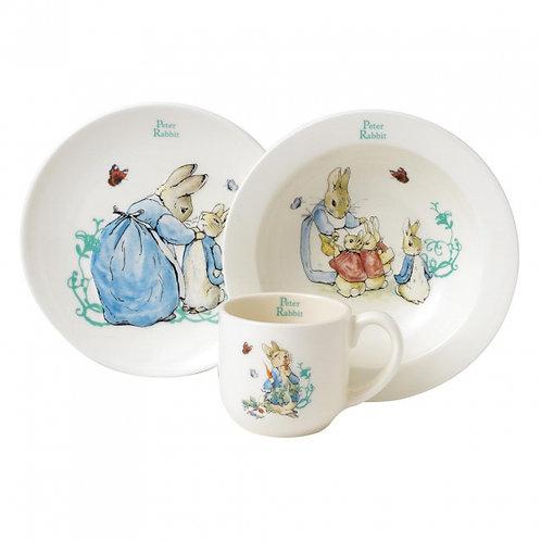 Peter Rabbit 3 Piece Dinner Set