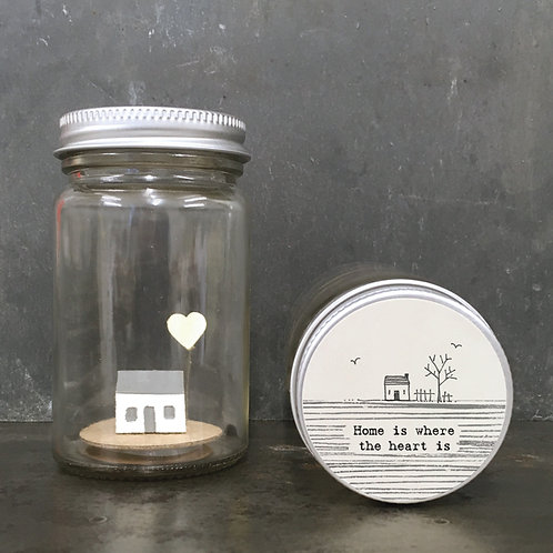East of India World in a jar - Home is where heart is