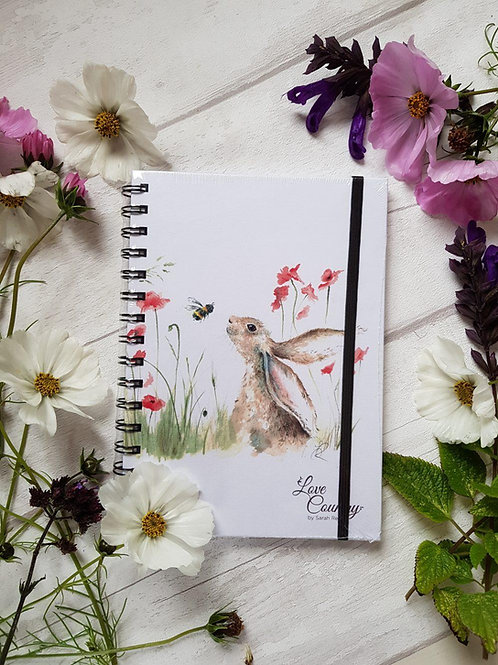 Love Country Bee Lovely Notebook