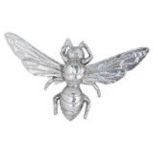 Hills Interiors Antique Silver Bumble Bee Decorative Clip