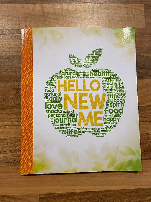Hello New Me Weight Loss Journey Book