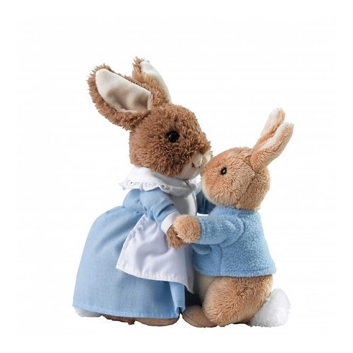 Mrs Rabbit and Peter Soft Toy