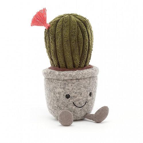 Jellycat Silly Succulent Barrel Cactus