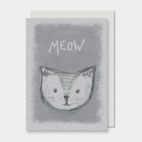 Meow East of India Card