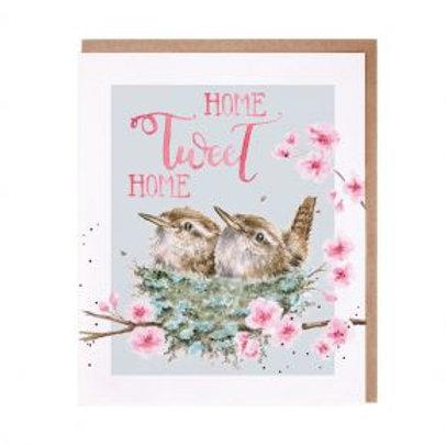 Home Tweet Home... Wrendale Card