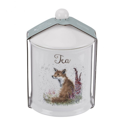 Wrendale Royal Worcester Fox Tea Canister