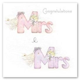 Mrs and Mrs Berni Parker Card