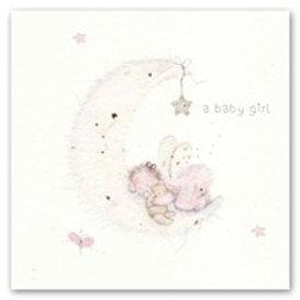 A baby girl Berni Parker Card