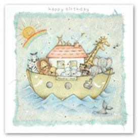 Happy Birthday - Noah's Ark Berni Parker Card