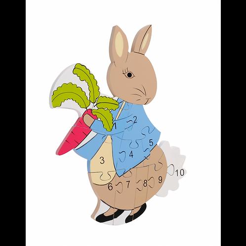 Peter Rabbit Number Puzzle