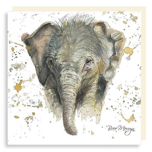Bree Merryn Eliza Elephant Mini Card