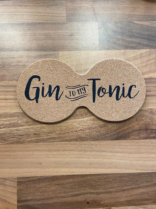 Gin to my Tonic Double Coaster