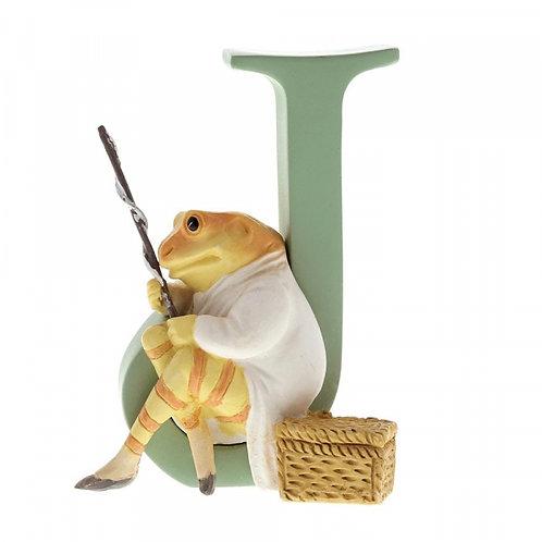 Beatrix Potter Ceramic Letters - Letter J