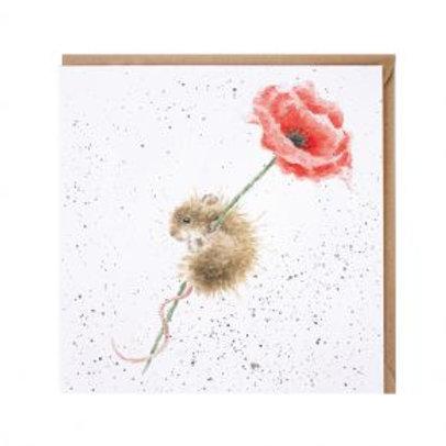 Wrendale Poppy Card