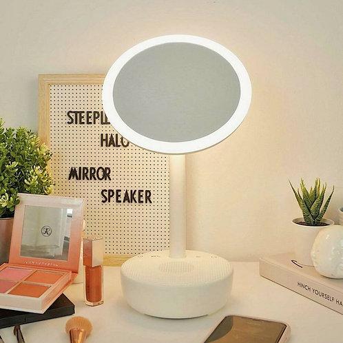 Halo Make Up Mirror Speaker