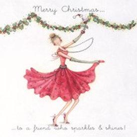 Berni Parker Sparkles & Shines Card