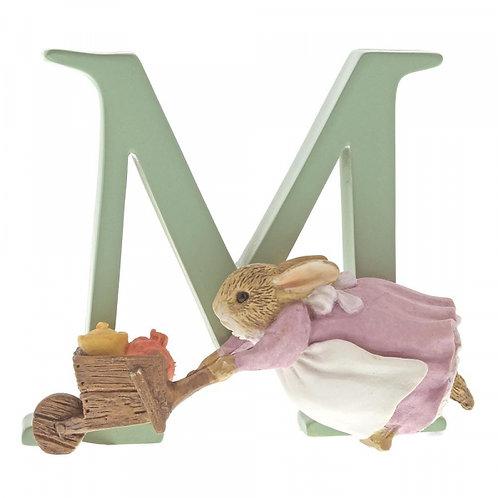 Beatrix Potter Ceramic Letters - Letter M
