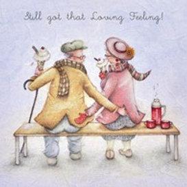 Still got that loving feeling! Berni Parker Card