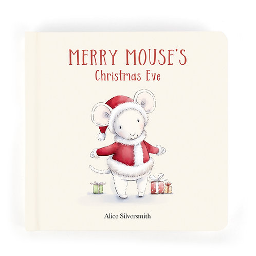 Pre Order - Jellycat Merry Mouse Book