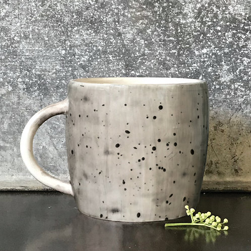 East of India Rustic Mug - Speckled Wash